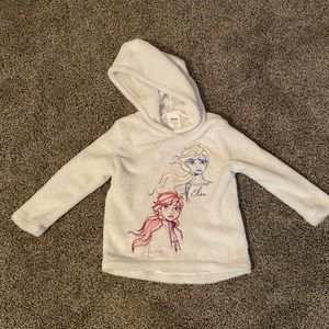 Other - Toddler girls fleece Frozen hoodie sz 3T